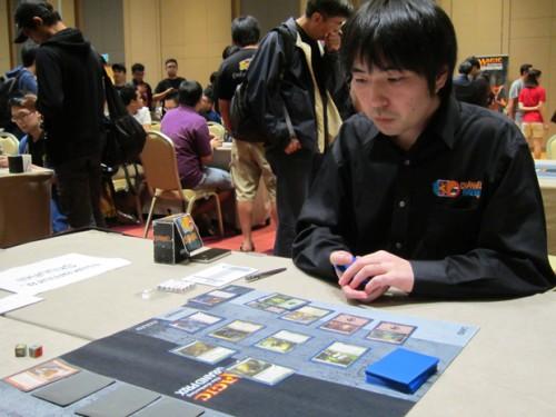 日本大师中村修平正在比赛