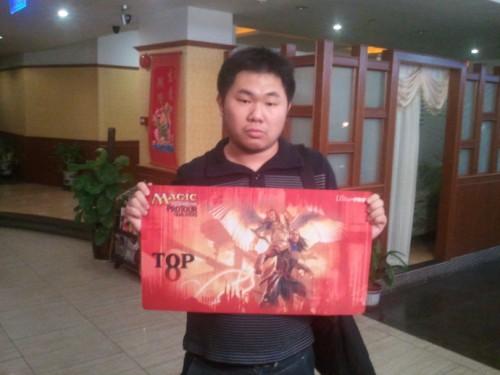 图为本次比赛的冠军,彭剑佳
